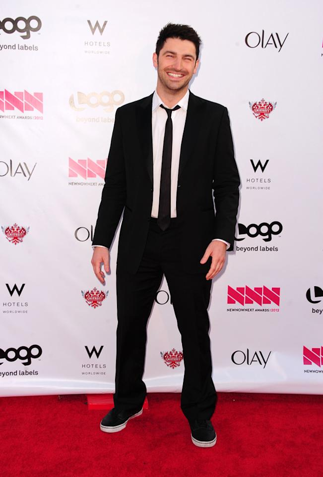 Chef Stuart O'Keeffe arrives at LOGO's NewNowNext Awards at Avalon on April 5, 2012 in Hollywood, California.