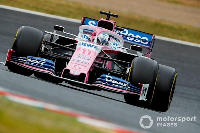 """Sergio Perez, Racing Point RP19 <span class=""""copyright"""">Steven Tee / Motorsport Images</span>"""