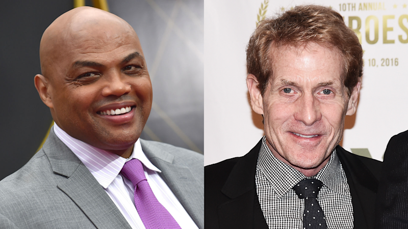 Charles Barkley continues his feud with 'punk ass' Skip Bayless