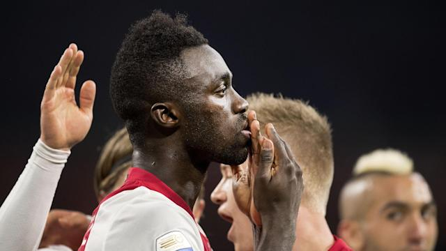 With his side being held at home by AZ, 20-year-old Davinson Sanchez produced a moment of magic to set the Amsterdam giants on their way to victory