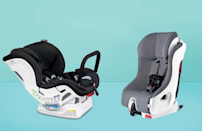 """<p>In the early stages of your baby's life, you'll notice how quickly they outgrow certain items. Luckily, a car seat doesn't have to be one of them. Convertible car seats allow you to use the same car seat from newborn through toddlerhood, and sometimes even longer, by transitioning from rear-facing to forward-facing and even <a href=""""http://goodhousekeeping.com/childrens-products/g36283367/best-booster-car-seats-toddlers/"""" rel=""""nofollow noopener"""" target=""""_blank"""" data-ylk=""""slk:booster seats"""" class=""""link rapid-noclick-resp"""">booster seats</a>.</p><p>Unlike <a href=""""https://www.goodhousekeeping.com/childrens-products/g36282689/best-infant-car-seats/"""" rel=""""nofollow noopener"""" target=""""_blank"""" data-ylk=""""slk:infant car seats"""" class=""""link rapid-noclick-resp"""">infant car seats</a>, <strong>convertible car seats tend to be more of a permanent fixture in a family vehicle. </strong>Typically, they aren't used as carriers and won't clip onto a stroller for transport outside of the vehicle. (If seamless newborn transport is a priority, consider an infant car seat.)</p><p>The parenting and product experts at the <a href=""""https://www.goodhousekeeping.com/institute/about-the-institute/a19748212/good-housekeeping-institute-product-reviews/"""" rel=""""nofollow noopener"""" target=""""_blank"""" data-ylk=""""slk:Good Housekeeping Institute"""" class=""""link rapid-noclick-resp"""">Good Housekeeping Institute</a>'s Little Lab test all of the must-haves for babies, toddlers and children, from <a href=""""https://www.goodhousekeeping.com/childrens-products/baby-stroller-reviews/g2469/best-baby-strollers/"""" rel=""""nofollow noopener"""" target=""""_blank"""" data-ylk=""""slk:baby strollers"""" class=""""link rapid-noclick-resp"""">baby strollers</a> and <a href=""""https://www.goodhousekeeping.com/childrens-products/g21784727/best-baby-gates-stairs/"""" rel=""""nofollow noopener"""" target=""""_blank"""" data-ylk=""""slk:safety gates"""" class=""""link rapid-noclick-resp"""">safety gates</a> to <a href=""""https://www.goodhousekeeping.com/childrens-products/toy-reviews/g35901"""