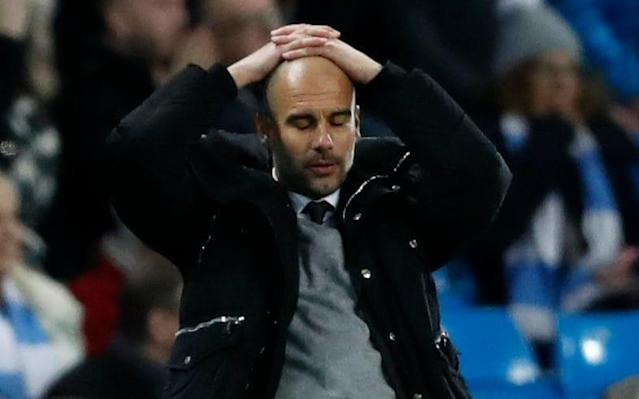 Pep Guardiola's side were kocked out of Euriope this week - Action Images