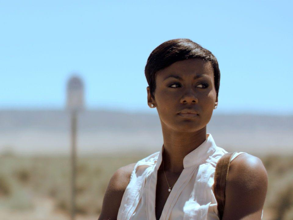 "Emayatzy Corinealdi starred in ""Middle of Nowhere."""