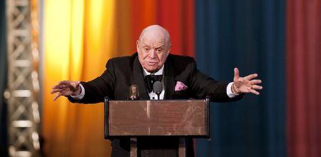 Don Rickles after receiving the Johnny Carson Award in New York, April 2012.   REUTERS/Stephen Chernin