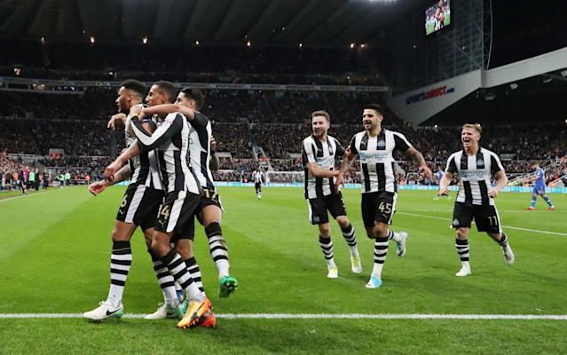 <span>Newcastle thought they had all three points until the late equaliser</span> <span>Credit: rex </span>