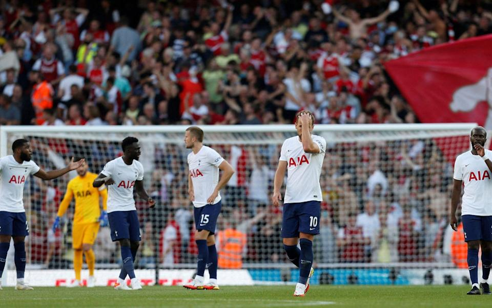 Harry Kane had chances at the Emirates but his misses summed up Spurs' afternoon - AFP