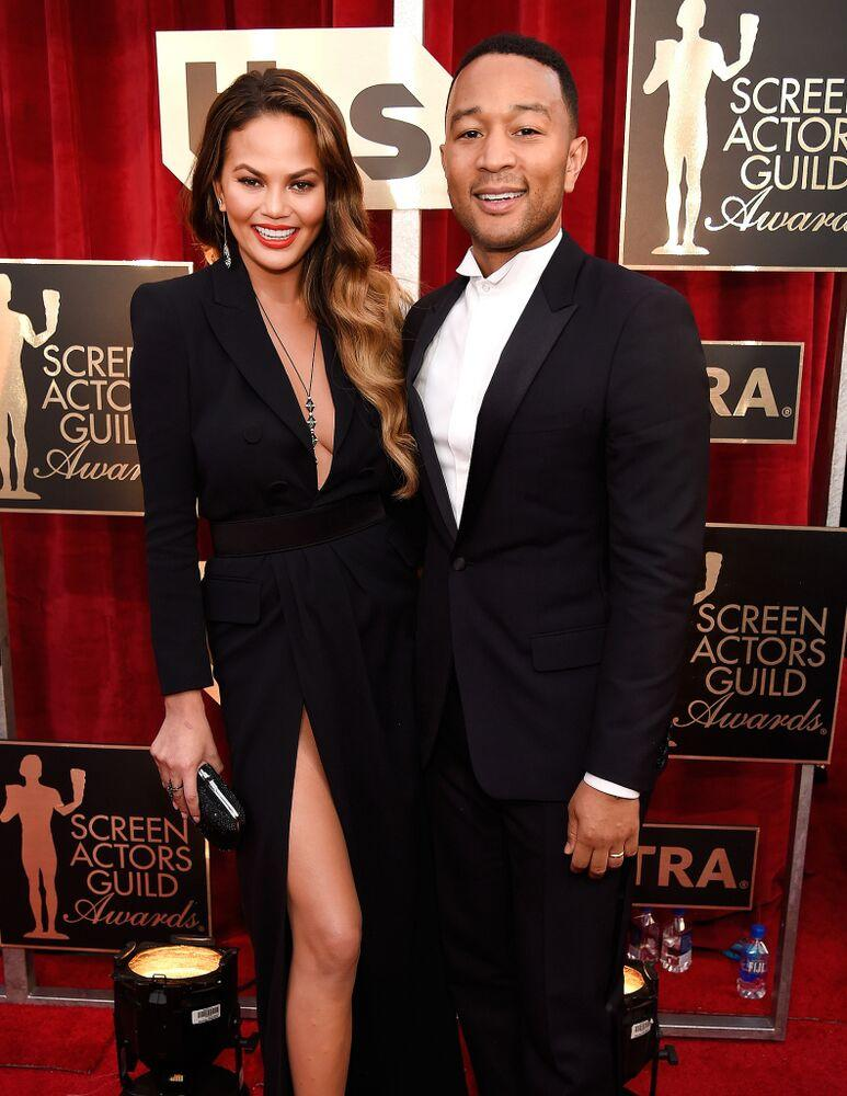 Chrissy Teigen and John Legend | Kevin Mazur/Getty