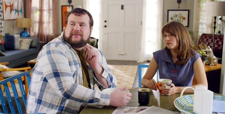 Mike Mitchell and Claudia O'Doherty in <em>Love</em>. (Photo: Netflix)