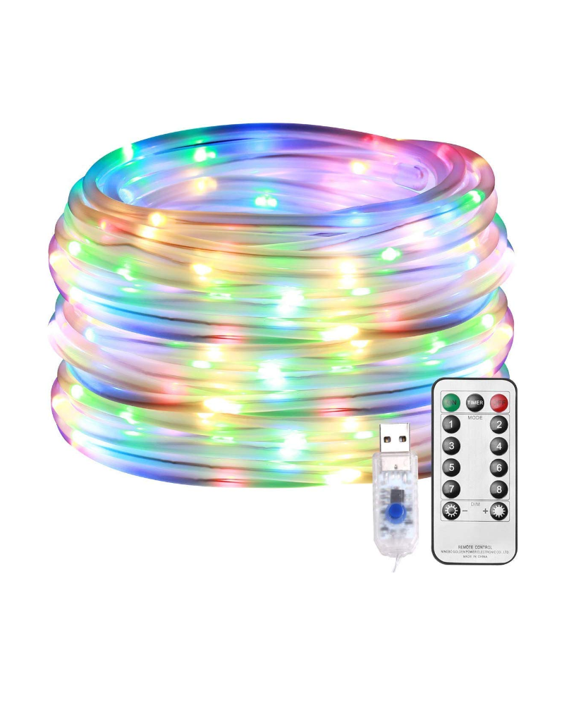 """<p><strong>Lighting EVER</strong></p><p>amazon.com</p><p><strong>$15.99</strong></p><p><a href=""""https://www.amazon.com/dp/B078823FX9?tag=syn-yahoo-20&ascsubtag=%5Bartid%7C10057.g.22853344%5Bsrc%7Cyahoo-us"""" rel=""""nofollow noopener"""" target=""""_blank"""" data-ylk=""""slk:BUY NOW"""" class=""""link rapid-noclick-resp"""">BUY NOW</a></p><p>Rope lights are great for wrapping around trees, columns, and fences. These ones are battery-powered and dimmable, with a remote to control them as you wish.</p>"""
