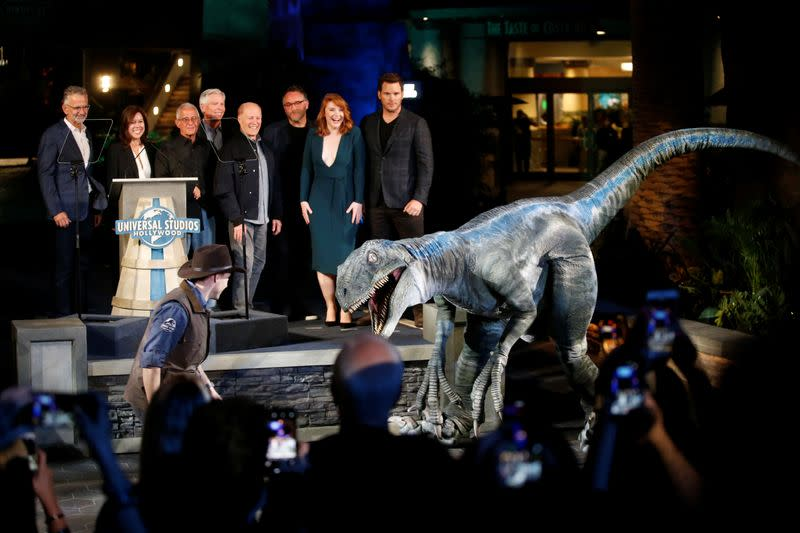 'Jurassic World' sequel delayed by a year in pandemic movie shuffle