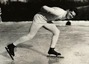 <p>Charles Jewtraw was the first American to win any gold medal during the winter games. He placed first in the 500 meter speed skating competition.</p>