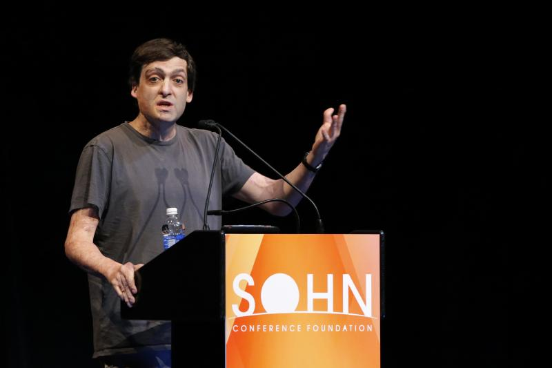 Ariely, professor of psychology and behavioral economics, speaks at the Sohn Investment Conference in New York