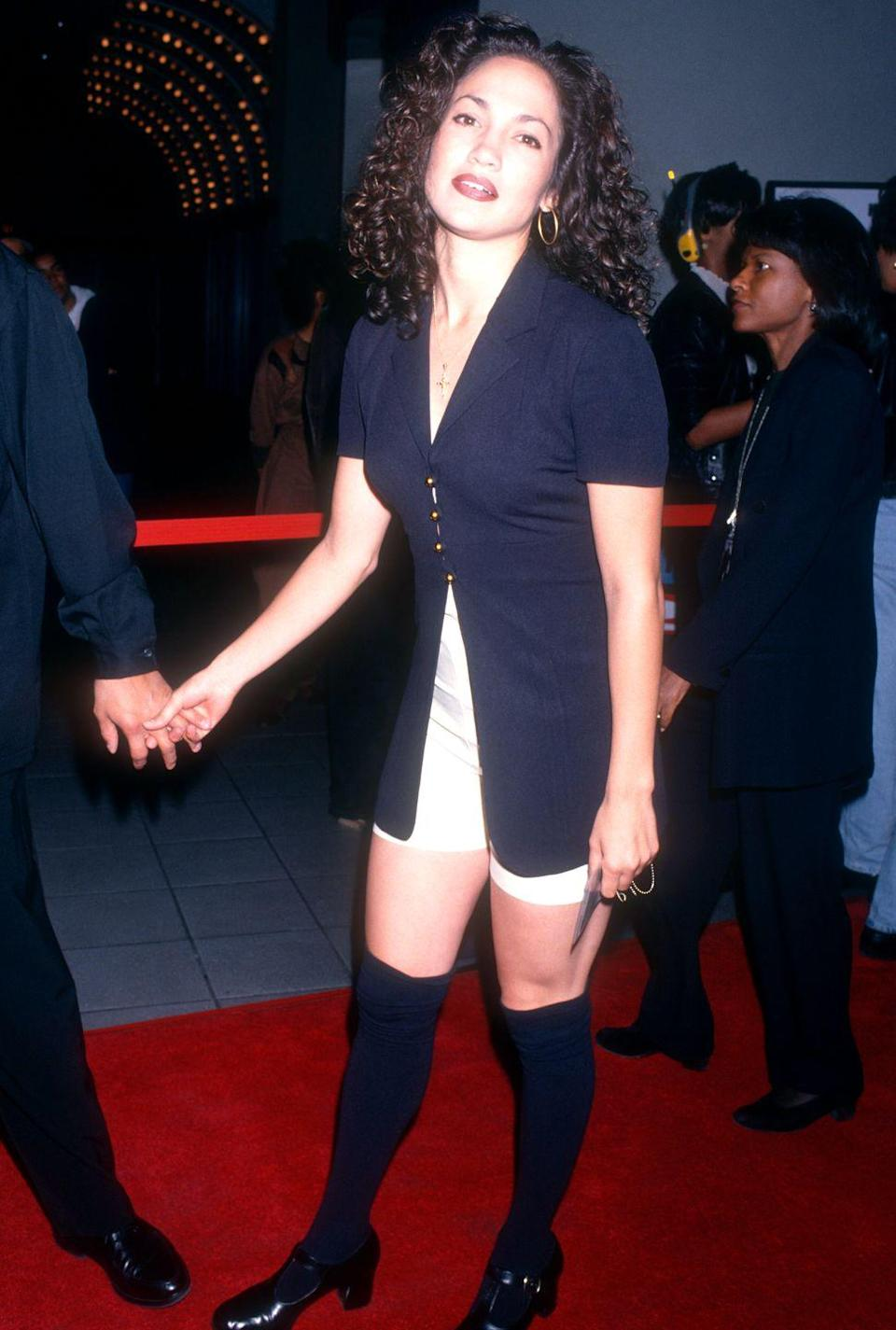 <p>Evoking serious Julia Roberts vibes on the red carpet.</p>