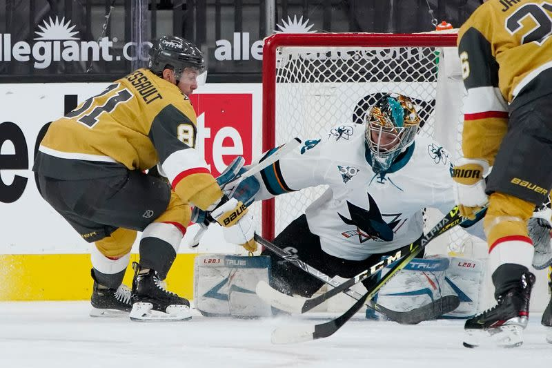 NHL: San Jose Sharks at Vegas