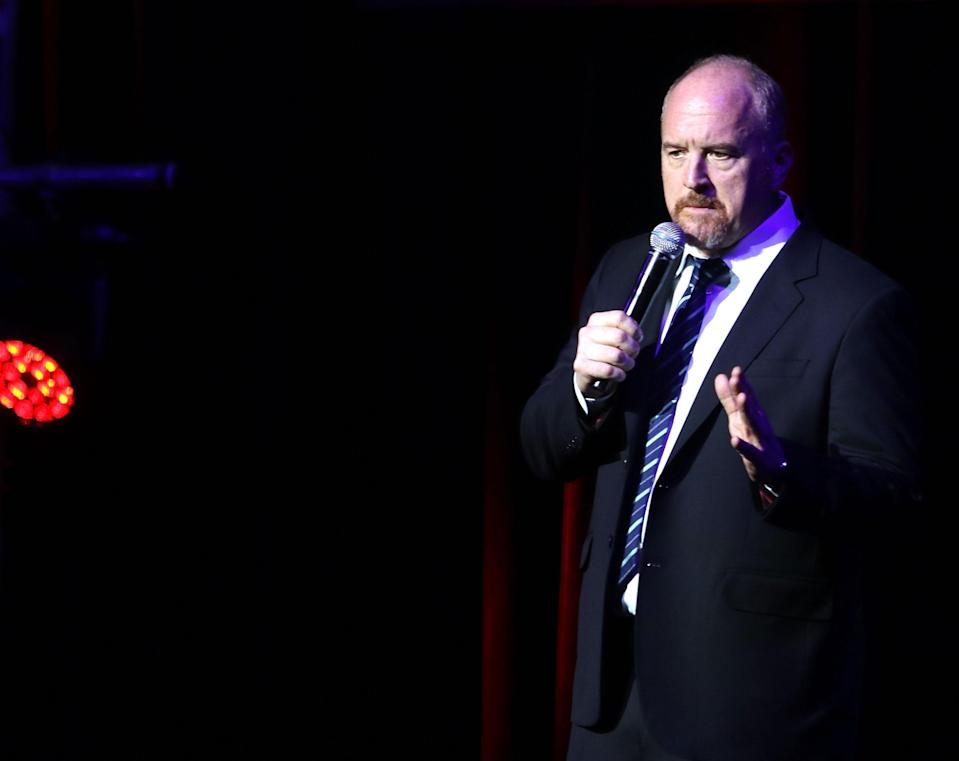 Louis C.K. is facing criticism after making light of his sexual misconduct during a comedy routine. Experts unpack why men who admit to abuse sometimes go on the defense. (Photo: Laura Cavanaugh/Getty Images)