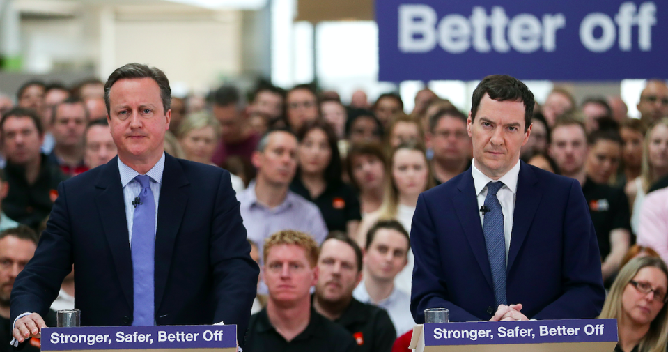 <em>George Osborne (right) believes mistakes made by the Tories led to Britain voting for Brexit (Getty)</em>