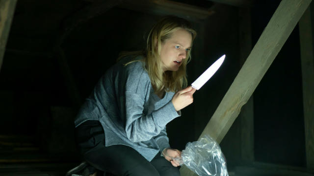 Elisabeth Moss as Cecilia Kass in <em>The Invisible Man</em>, written and directed by Leigh Whannell. (Universal)