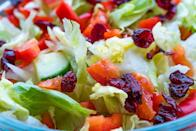 <p>Dried cranberries are everywhere now, popping up on salads, in trail mix, and in oatmeal. In 1993, classic Craisins were seen as a fruity snack that tons of moms loved feeding their kids.</p>