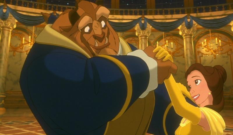 Beauty and the Beast is a metaphor for Aids