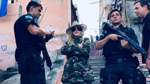 Brazilian Cops Are Killing More People Than Ever. Somebody Tell Madonna.