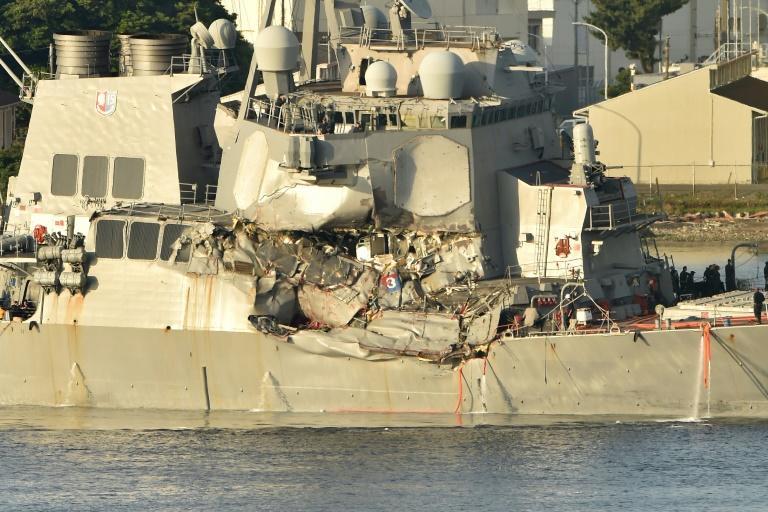 The US Navy guided missile destroyer USS Fitzgerald collided with a Philippine-flagged container ship on June 17 in the Sea of Japan, resulting in the death of seven American sailors