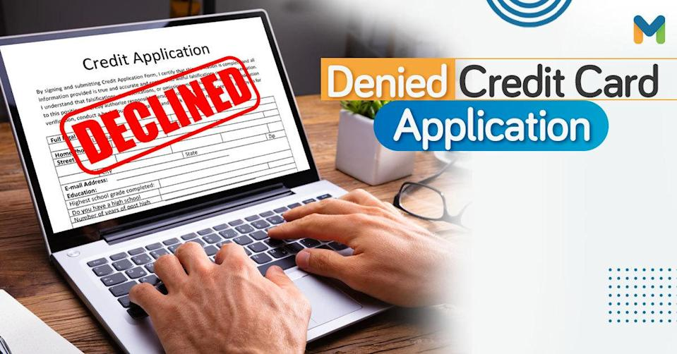 Declined Credit Card Application Philippines | Moneymax