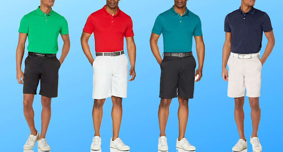 Shoppers are loving the Amazon Essentials Men's Slim-fit Quick-Dry Golf Polo Shirt.