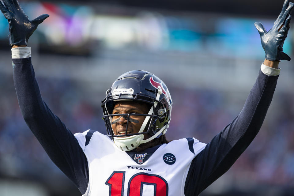 The Cardinals acquired DeAndre Hopkins from the Texans in a wholly lopsided deal. (Photo by Brett Carlsen/Getty Images)