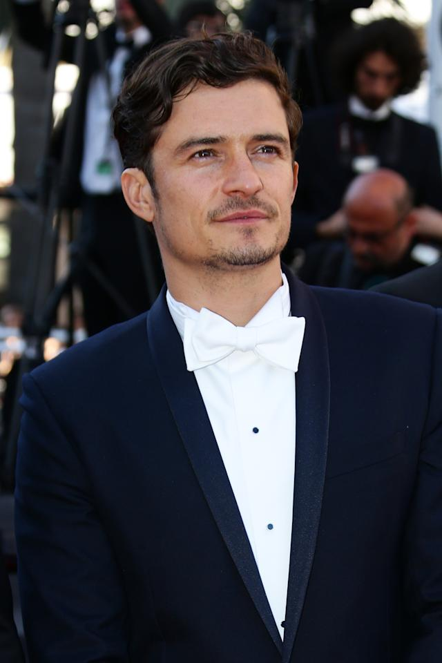 CANNES, FRANCE - MAY 26:  Actor Orlando Bloom attends the 'Zulu' Premiere and Closing Ceremony during the 66th Annual Cannes Film Festival at the Palais des Festivals on May 26, 2013 in Cannes, France.  (Photo by Vittorio Zunino Celotto/Getty Images)