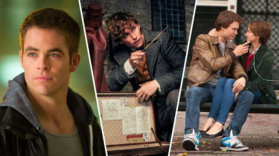 Jack Ryan: Shadow Recruit, Fantastic Beasts and the Crimes of Grindelwald, The Fault In Their Stars.
