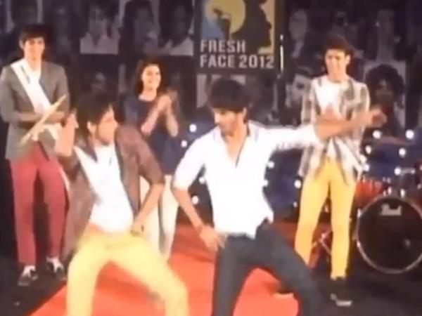 Throwback video of actor Siddhant Chaturvedi and late actor Sushant Singh Rajput (Image Source: Instagram)