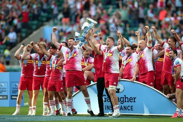 Harlequins won the Premiership title playing a thrilling brand of rugby
