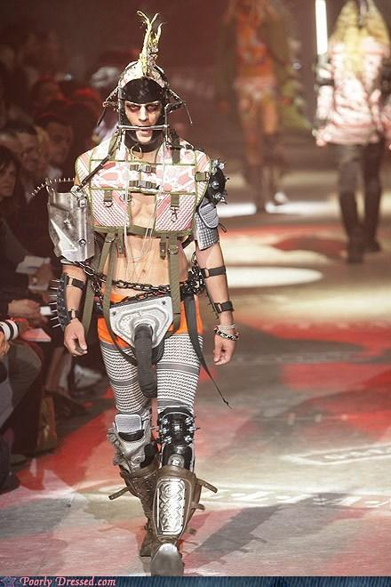 """<div class=""""caption-credit""""> Photo by: poorlydressed.failblog.org</div>The Robot Look"""