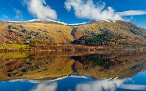 Thirlmere Reservoir in the Lake District National Park - Credit:  www.Alamy.com