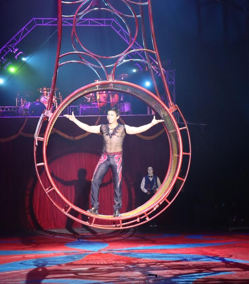 The coronavirus pandemic halted Cirque MonteCarlo's 9-month tour, leaving performers stranded in a Texas parking lot. (Photo: Courtesy of Cindi Cavallini)