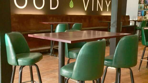 Restaurant dining rooms are opening again today. (Steve Bruce/CBC - image credit)