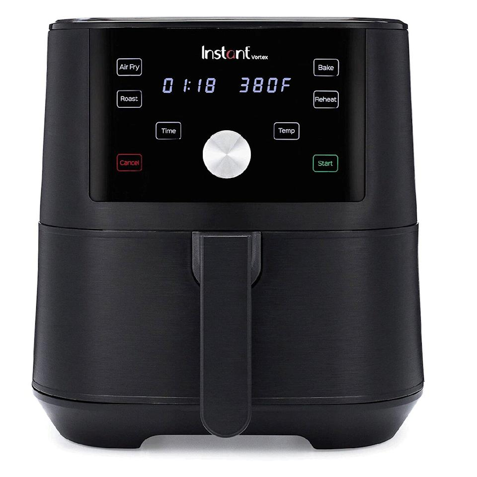Instant Vortex 4-in-1 Basket Air Fryer with 4 Customizable One-Touch Cooking Programs