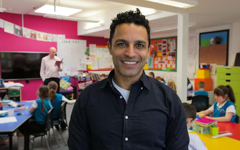 Dr Javid Abdelmoneim has spearheaded a new experiment on gender neutrality in education the results of which will be shown in a new BBC documentary - 1