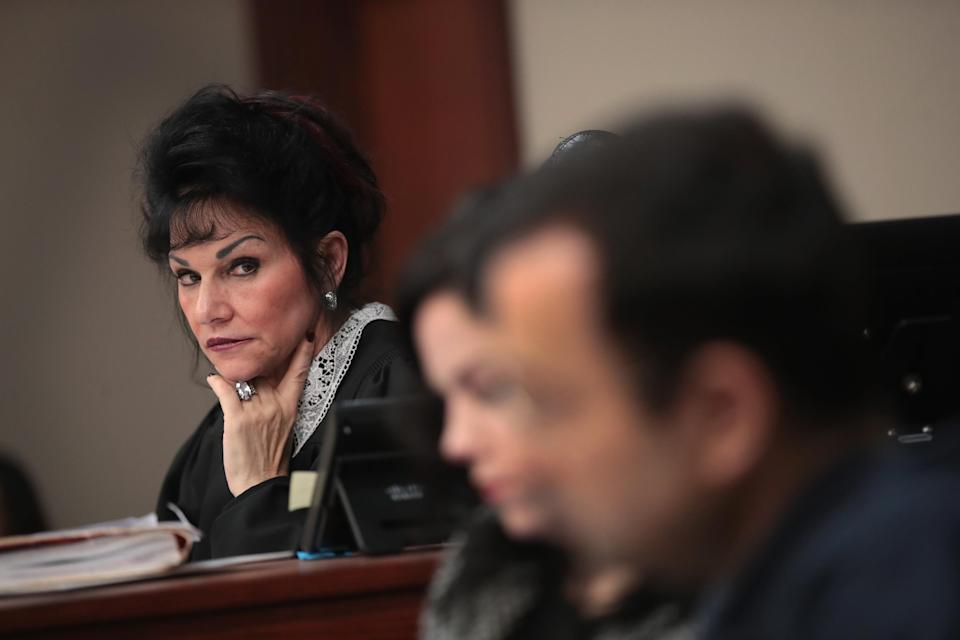 Judge Rosemarie Aquilina delivered an empowering sentencing at the trial of former doctor Larry Nassar, who will likely spend the rest of his life in prison for sexual abuse. (Photo: Getty Images)