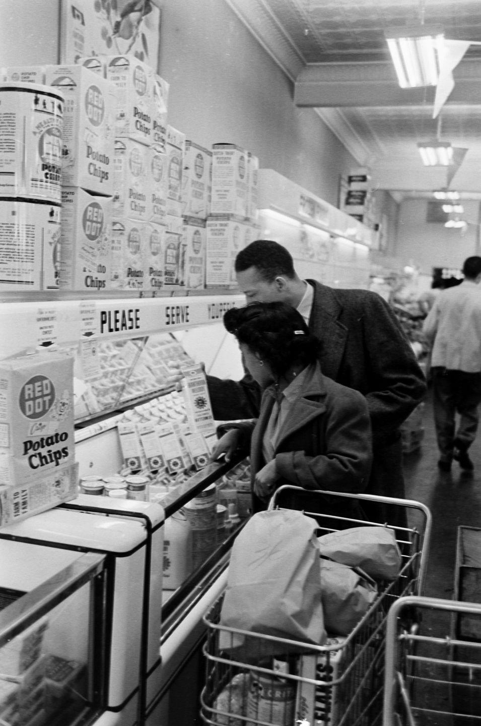 """<p>Companies focused on opening stores in suburban areas, specifically white neighborhoods over predominately Black communities, which some have <a href=""""https://www.cnn.com/2020/06/16/business/grocery-stores-access-race-inequality/index.html"""" rel=""""nofollow noopener"""" target=""""_blank"""" data-ylk=""""slk:referred to as &quot;supermarket redlining.&quot;"""" class=""""link rapid-noclick-resp"""">referred to as """"supermarket redlining.""""</a> As a result, it was harder and more expensive for people in Black neighborhoods to access food, especially fresh, healthy food.</p>"""