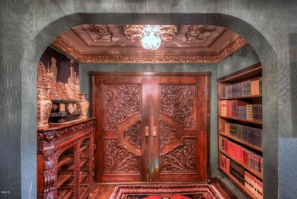 <p>Inside, the house is completely decorated with Renaissance-era furniture and finishes, largely transported from Europe and installed using Old World artisanship.</p>