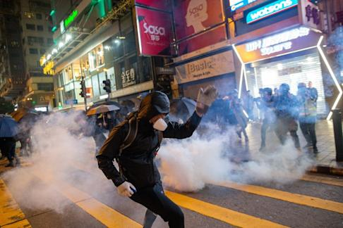 Protesters have clashed with police for three days over the festive period. Photo: EPA-EFE