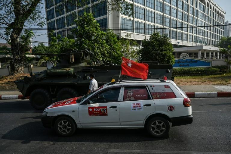 Despite the threat of a crackdown, protesters have come out on the streets of Myanmar against the military coup