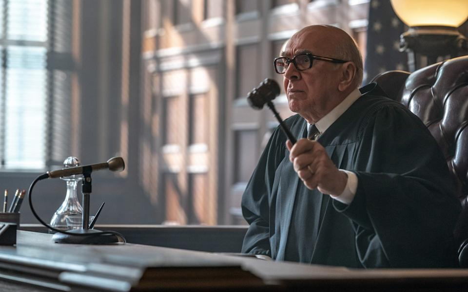 Frank Lagella in The Trial of the Chicago 7 - Niko Tavernise/Netflix