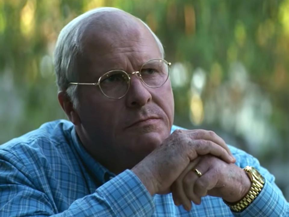 Christian played former U.S. Vice President Dick Cheney in Vice. (Photo: Annapuma Pictures)