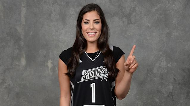 NEW YORK (AP) - Kelsey Plum was the No. 1 pick in the WNBA draft, going to the San Antonio Stars on Thursday night.