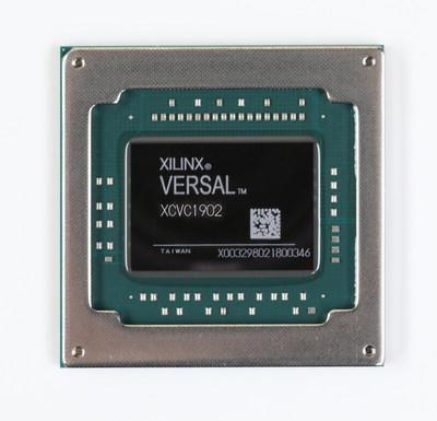 Xilinx kicks off a new era of heterogeneous compute acceleration for any application and any developer with first customer shipments of Versal ACAP, the industry's first adaptive compute acceleration platform (ACAP), a revolutionary new category of heterogeneous compute devices. (Image: Versal™ AI Core series VC1902)