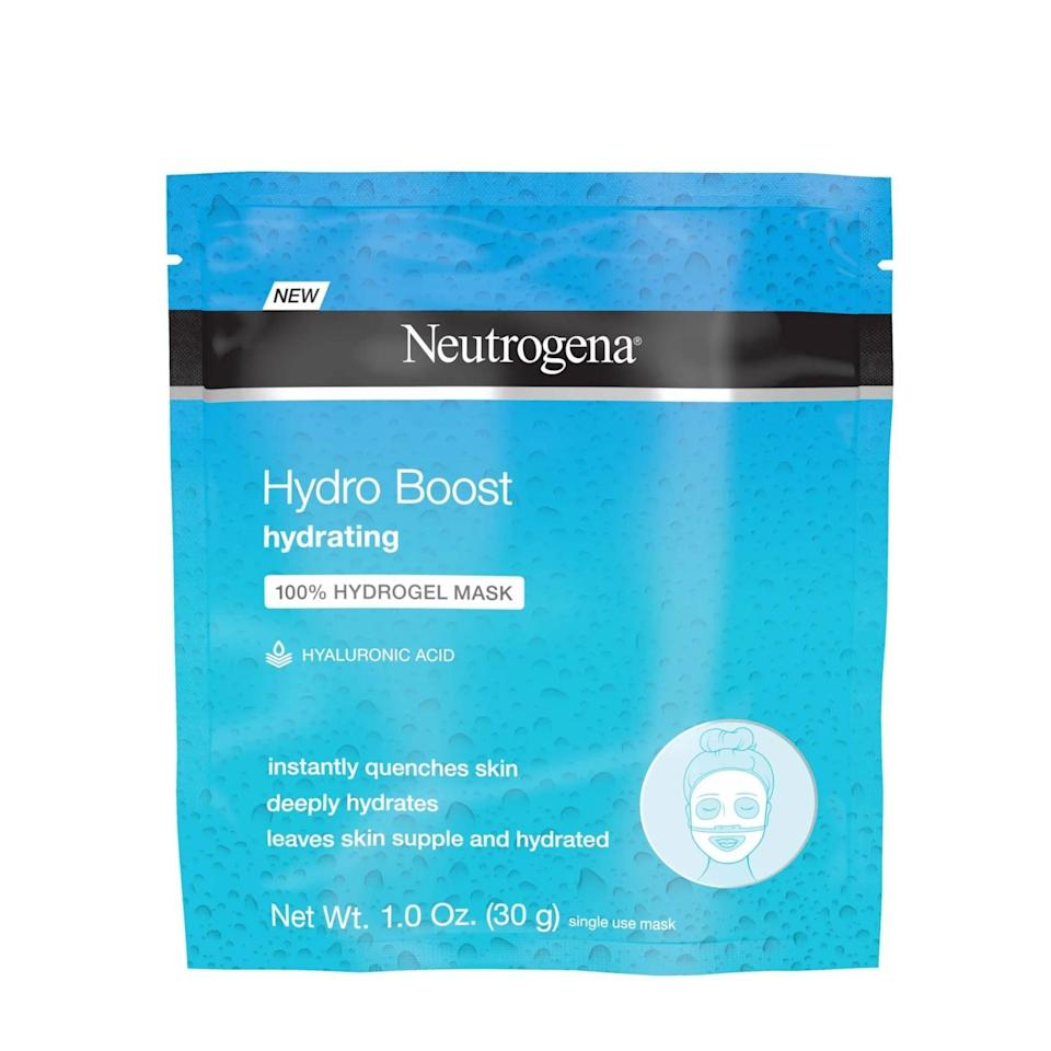 <p>You'll have radiant skin after using the beloved <span>Neutrogena Moisturizing Hydro Boost Hydrating Face Mask</span> ($3). This is a great option if you have dry skin or need a refreshing boost of hydration.</p>