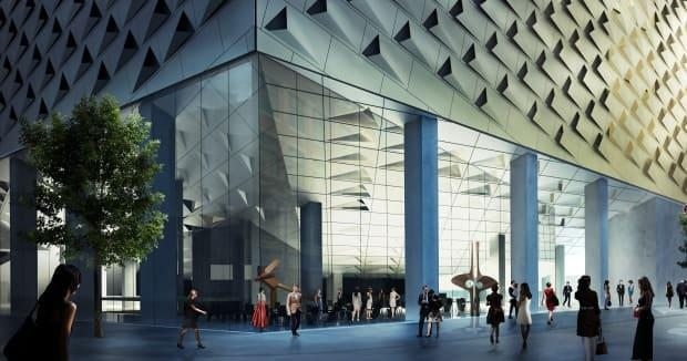 A conceptual image of the new, renovated Glenbow Museum.  (Submitted by Glenbow Museum - image credit)