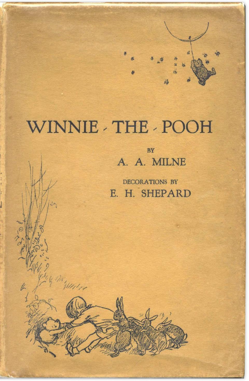 Prince Harry has purchased a first edition of the famous novel, Winnie-the-Pooh, for £8,000.